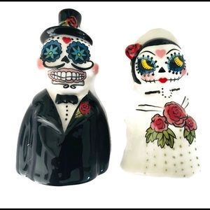 New bride Groom day of the dead SP shakers